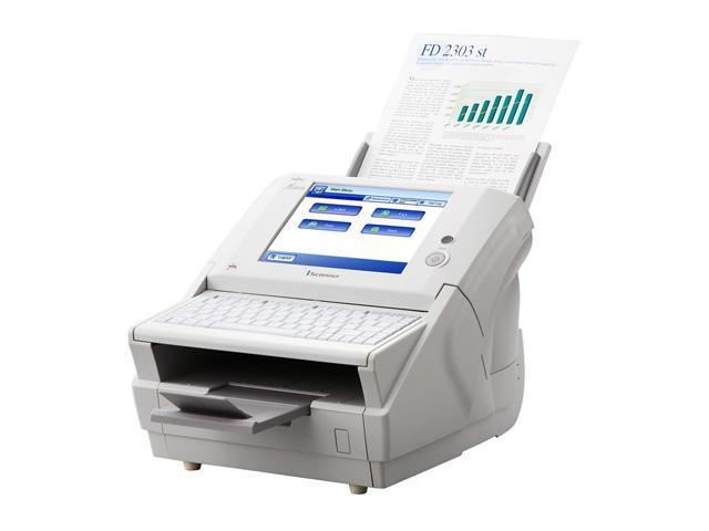 Fujitsu ScanSnap fi-6010N 24 bit CCD 600 dpi Duplex Color Document Scanner