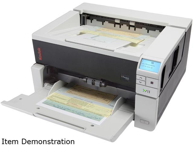 Kodak i3200 1640549 48 bit color capture, 24 bit color output CCD 600 dpi Single Pass Document Scanner