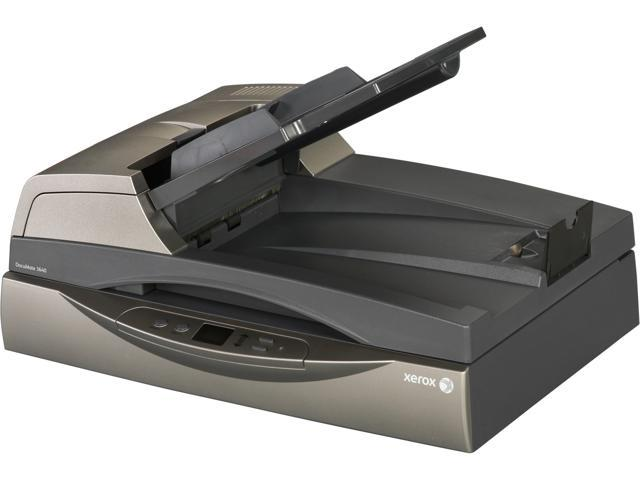 XEROX  DocuMate  3640 600 dpi  24bit USB 2.0  Interface Flatbed  Scanner - Retail