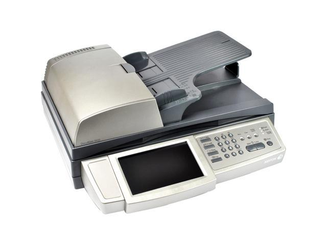 XEROX DocuMate 3920 XDM39205D-WU 600 dpi 24bit USB, RJ-11, Ethernet 10Base T / 100Base TX auto-registration Interface Duplex Document Scanner