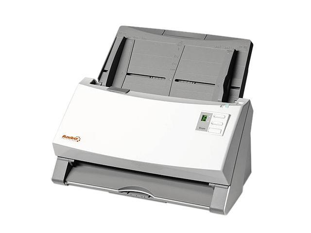 Ambir ImageScan Pro 930u (DS930-AS) Input 48-bit, Output 24-bit CCD Up to 600 dpi Duplex Document Scanner with UltraSonic Misfeed Detection