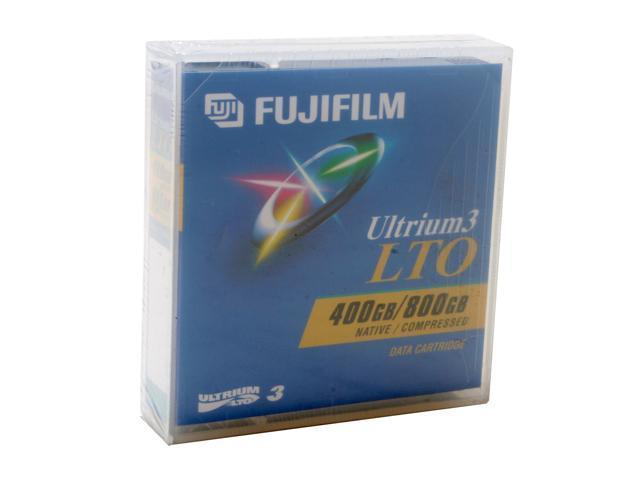 FUJIFILM 26230010 400/800GB LTO Ultrium 3 Tape Media 1 Pack