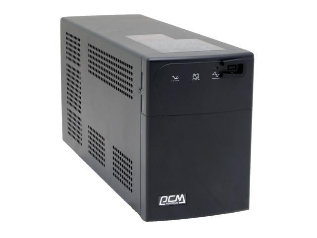 powercom Black Knight CS BNT-1000CSU 1000VA 600 Watts 6 Outlets UPS