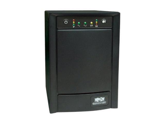 Tripp Lite SMART750SLT Smart Pro 750 VA 500 Watts 8 Outlets Tower Line Interactive UPS with SNMP Slot