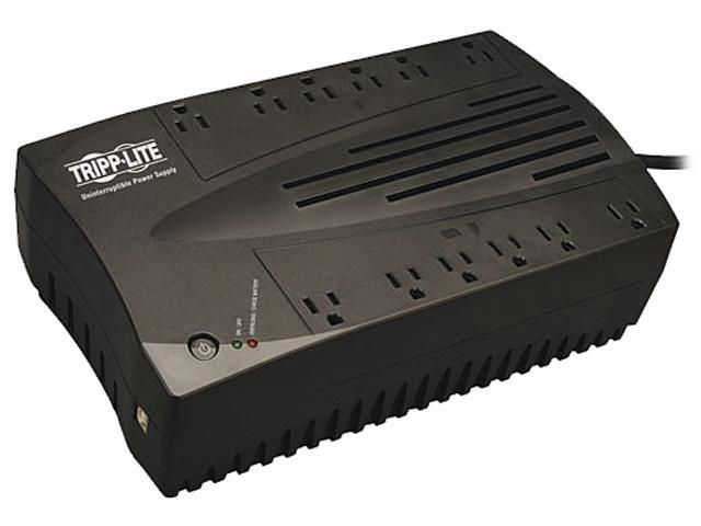 Tripp Lite AVR750U AVR Series 750 VA 450 Watts 12 Outlets Line Interactive UPS for PCs