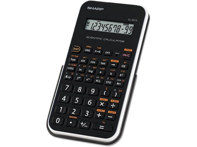 Sharp EL501X Scientific Calculator 131 Functions - 1 Line(s) - 10 Character(s) - LCD - Battery Powered - 3.3