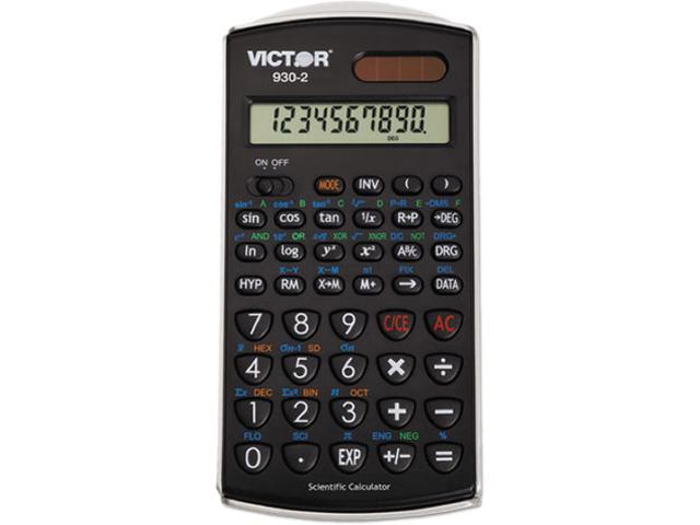 Victor 930-2 930-2 Scientific Calculator, 10-Digit LCD
