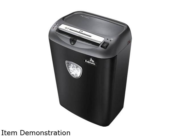 Fellowes Powershred 75Cs Medium-Duty Cross-Cut Shredder, 12 Sheet Capacity