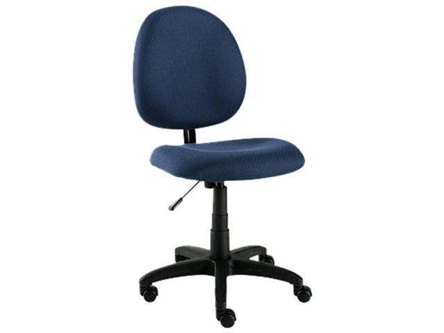 Essentia Series Swivel Task Chair, Acrylic, Blue