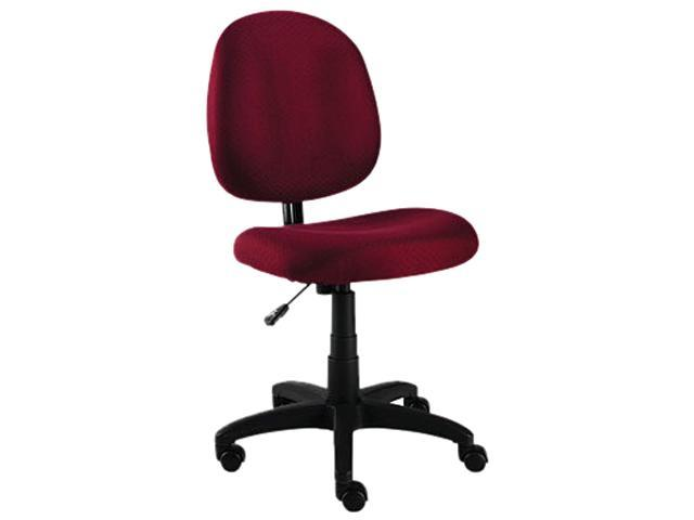 Essentia Series Swivel Task Chair, Acrylic, Burgundy