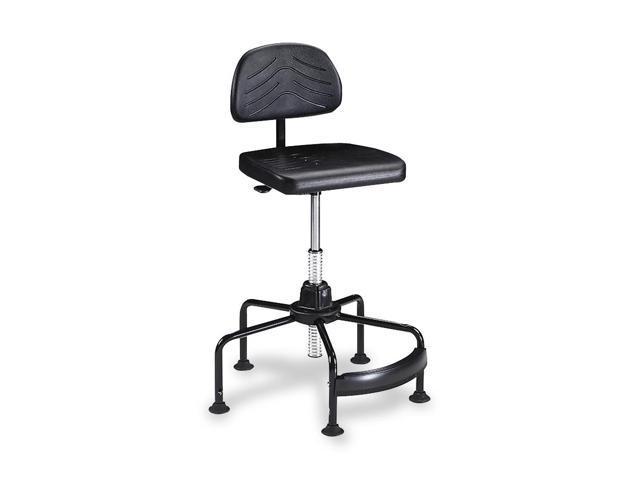 Safco 5117 TaskMaster EconoMahogany Industrial Chair, Black