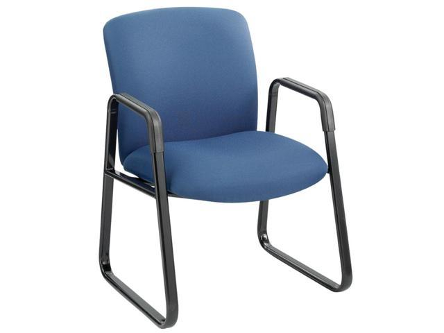 Safco 3492BU Guest Chair, Big & Tall, Blue