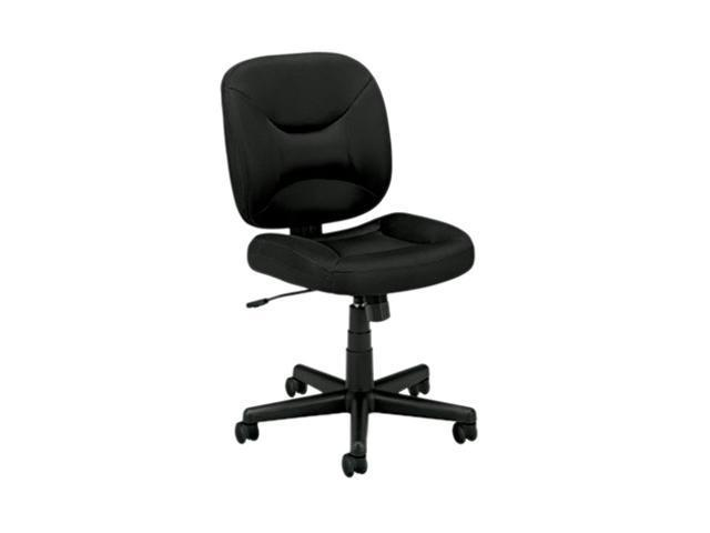 Basyx Vl210 Mesh Low-Back Task Chair, Black BSXVL210MM10
