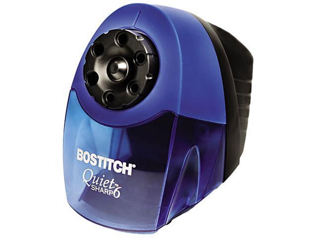 Stanley Bostitch EPS10HC Quiet Sharp 6 Commercial Desktop Electric Pencil Sharpener, Blue