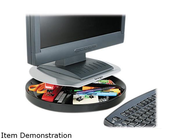 Kensington Spin2 Monitor Stand, 14w x 14 d x 3 1/4h, Black