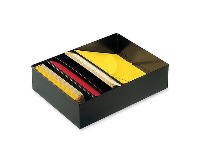 STEELMASTER by MMF Industries 2712SBK Five-Compartment Desk Drawer Stationery Holder, Steel, 21