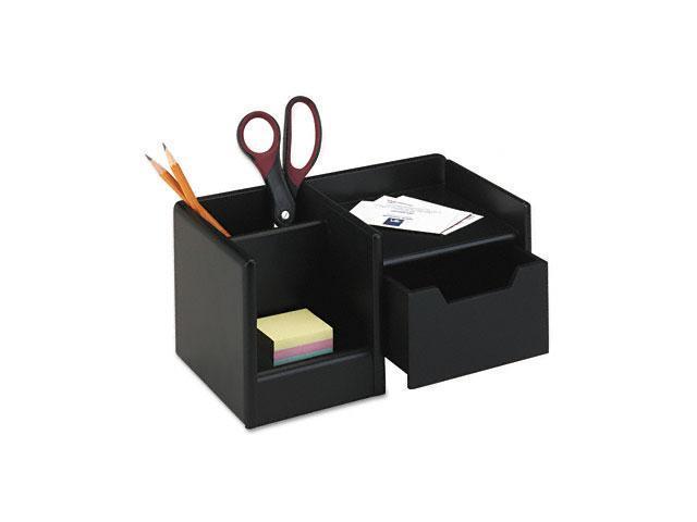 Rolodex 62543 Wood Tones Handheld Electronics Organizer, Wood, 10 x 6 x 5, Black