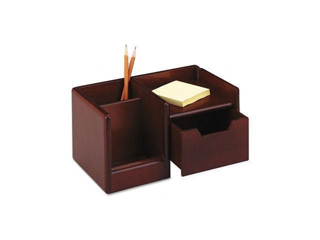 Rolodex 98800 Wood Tones Handheld Electronics Organizer, 10 x 6 x 5, Mahogany