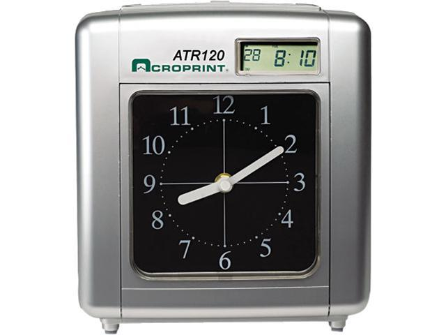 Acroprint 01-0212-000 Model ATR120 Analog/LCD Automatic Time Clock