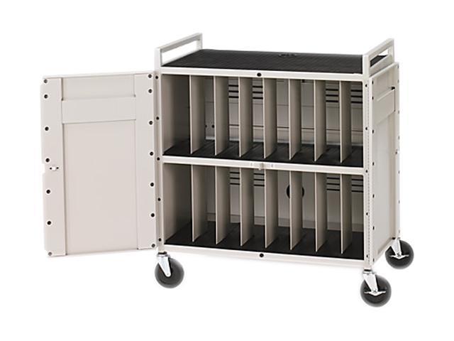 Bretford LAPTG15ESA-GM Fully Assembled Laptop Storage Cart