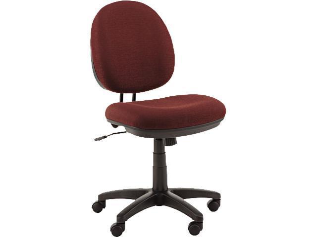 Alera Interval Swivel IN4831 (ALEIN4831) Tilt Task Chair, 100% Acrylic W/ Tone-On-Tone Pattern, Burgundy