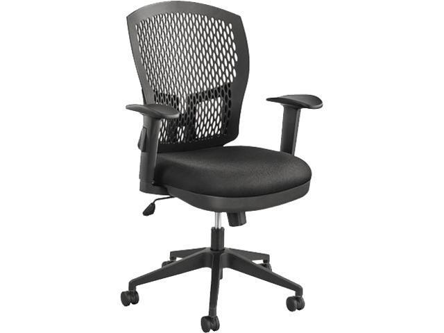 Alera Flex Back Swivel TC4212 (ALETC4212) Tilt Task Chair, 26-1/2w x 25d x 37-3/8 to 40-1/8h, Black