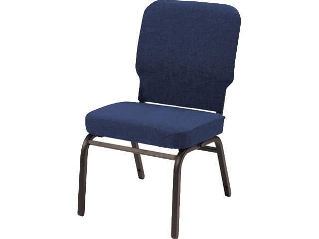 Alera HTB1040SB-3301 Oversize Stack Chair, Navy Fabric Upholstery, 2/Carton