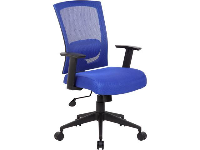 BOSS Office Products B6706-BE Mesh Back Task Chair