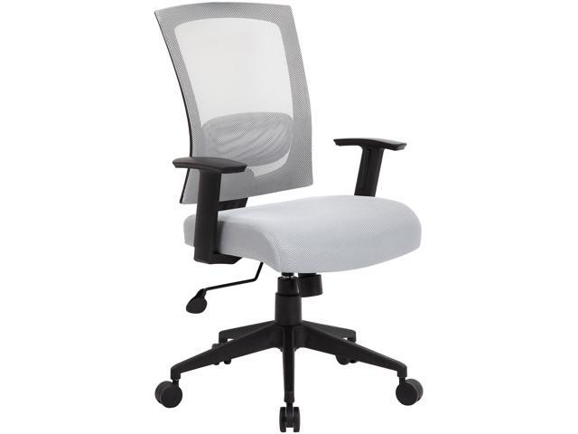 BOSS Office Products B6706-GY Mesh Back Task Chair
