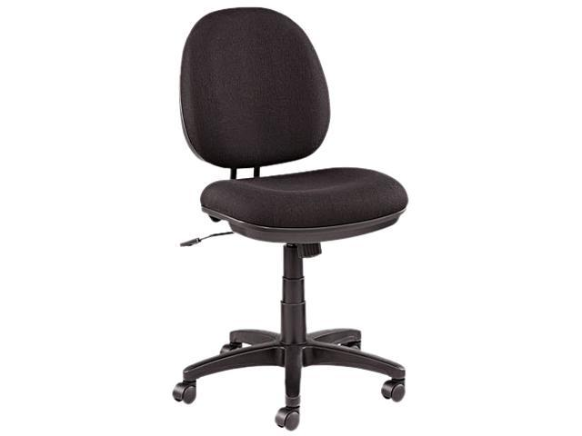 Alera Interval Swivel IN4811 (ALEIN4811) Tilt Task Chair, 100% Acrylic with Tone-On-Tone Pattern, Black