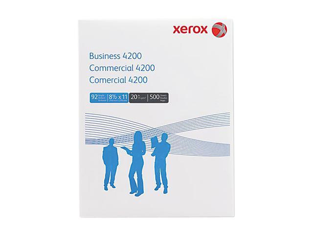 Xerox 3R2047-RM Business 4200 Copy/Print Paper, 92 Bright, 20lb, Letter, White, 500 Sheets/Ream