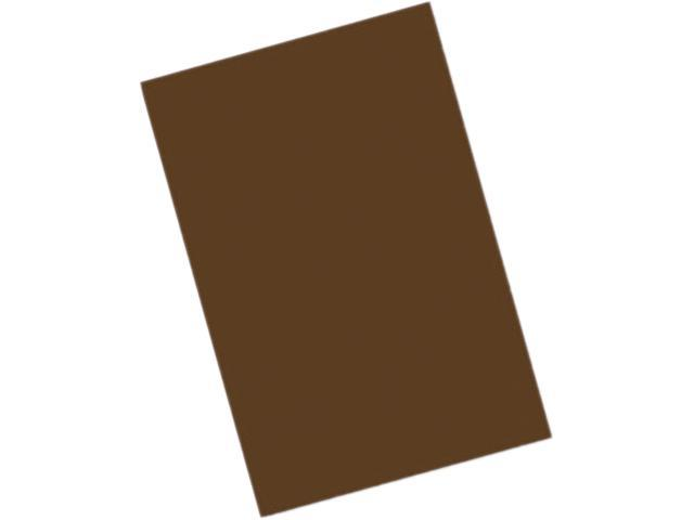 Pacon 103630 Riverside Construction Paper, 76 lbs., 12 x 18, Dark Brown, 50 Sheets/Pack
