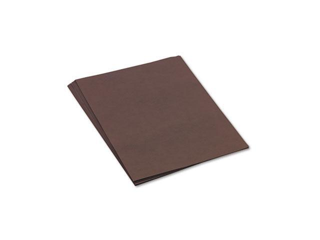 Pacon 103088 Tru-Ray Construction Paper, 76 lbs., 18 x 24, Dark Brown, 50 Sheets/Pack