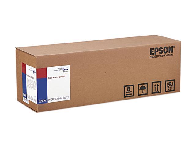 Epson America S042313 Cold Press Bright Fine Art Paper, 17