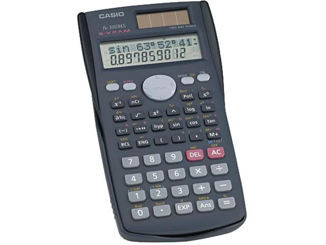 Casio FX-300MS FX-300MS Scientific Calculator, 10-Digit LCD