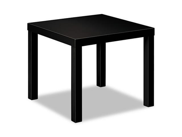 basyx BLH3170P Laminate Occasional Table, 24w x 24d x 20h, Black
