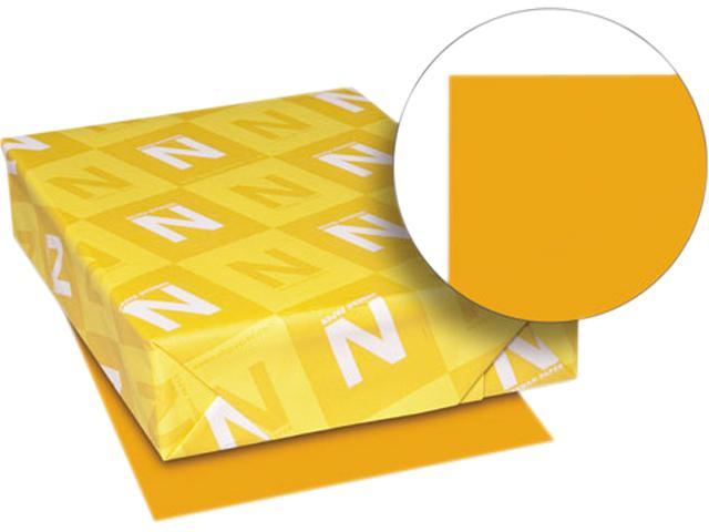 Wausau Paper 22653 Astrobrights Colored Paper, 24lb, 11 x 17, Cosmic Orange, 500 Sheets/Ream