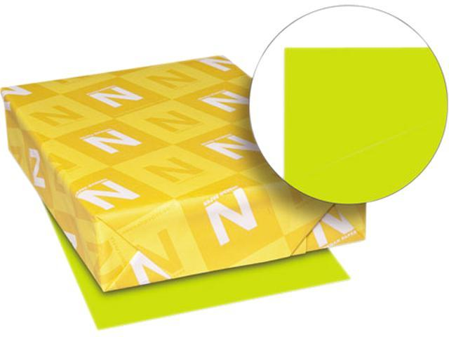 Wausau Paper 22583 Astrobrights Colored Paper, 24lb, 11 x 17, Terra Green, 500 Sheets/Ream