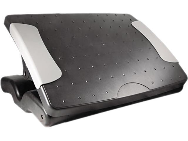 Kantek FR600 Deluxe Adjustable Footrest, Black