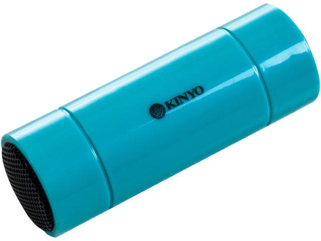 KINYO 72-MS21BLU 2.0 Mini Portable Speaker - Blue