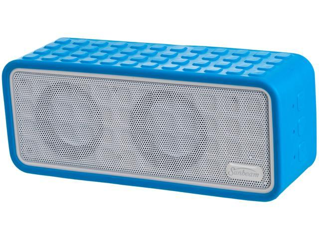 Sunbeam 72-SB1575 Rechargeable Bluetooth Conference Speaker w/ Microphone - Blue