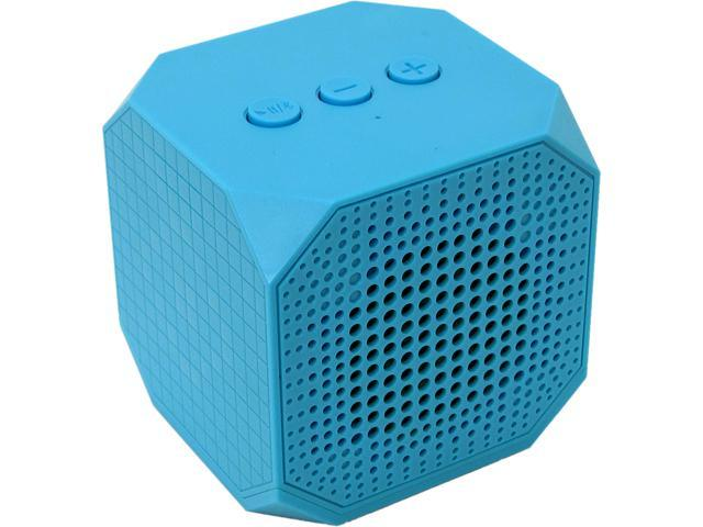 MQbix MQBK3010BLU MUSICUBE Wireless Portable Bluetooth Speaker with Built-In Mic and Rechargeable Battery