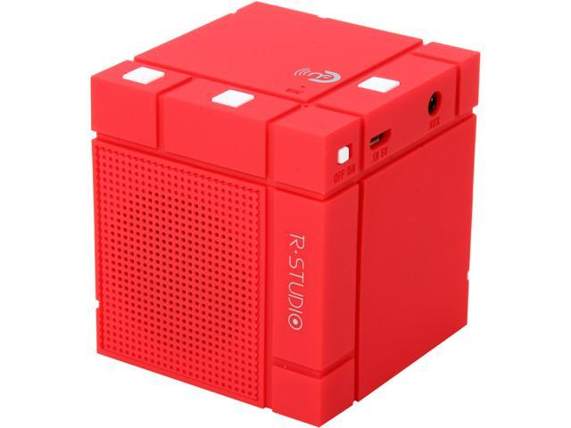 Rosewill R-Studio MINI RUBIC-RED Bluetooth Portable Speaker, with NFC and Handsfree Mic