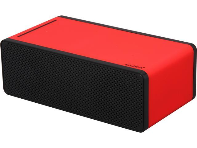 Luxa2 Groovy T Magic Boom Box Speaker- Induction Amplifier- Red