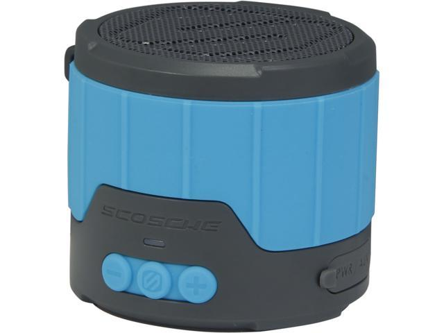 Scosche boomBOTTLE MINI Rugged Weatherproof Wireless Speaker- Blue - BTBTLMBL