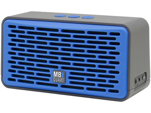 MB Quart QUB4.10201 Oversized Wireless Bluetooth Speaker with Passive Radiator