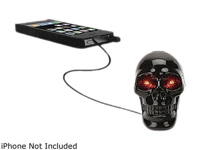 HYPE HY-529-BLK Skull Speaker