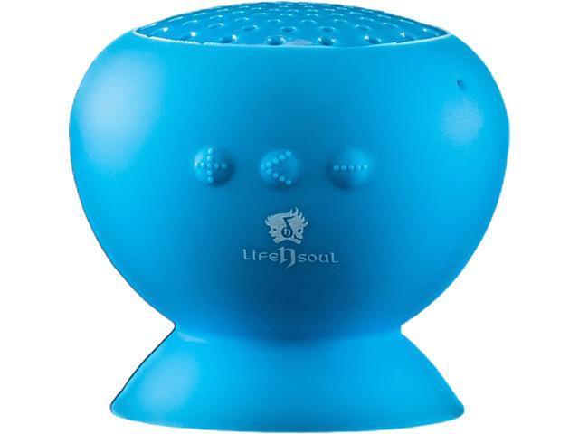 Life n Soul IE100 Bluetooth Suction Speaker Blue