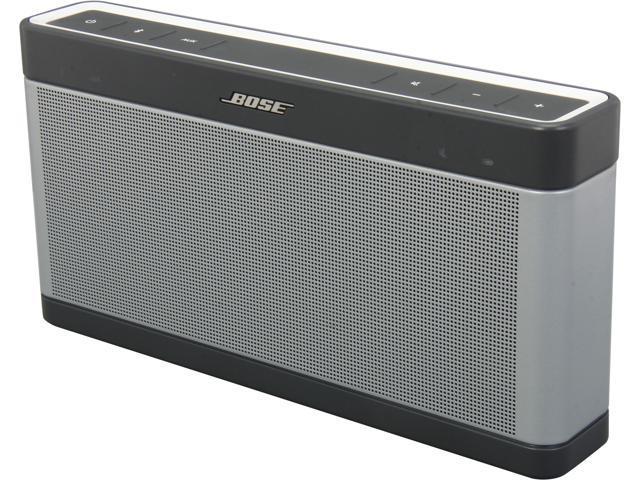 Bose Soundlink Mobile III portable bluetooth speaker