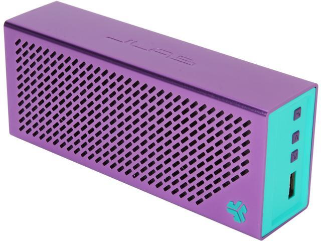 JLab CRASHER-PRPLTEAL-BOX The Crasher Portable Bluetooth Speaker with Massive Battery and Charge Out
